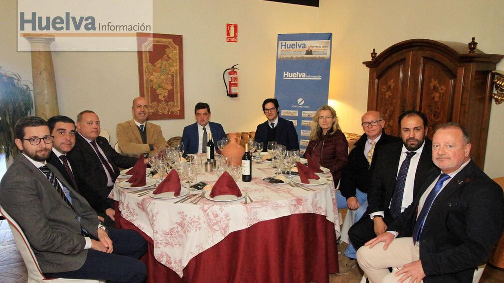 Imágenes de la Tertulia Cofrade de Huelva Información