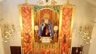 Imágenes del museo de la capilla de La Esperanza