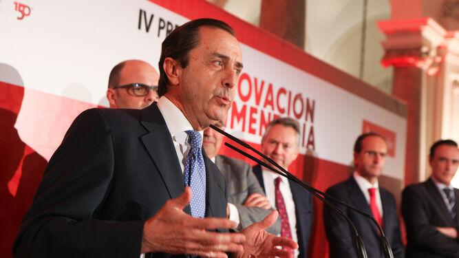 Ricardo Delgado Vizcaíno, en un momento de su intervención.