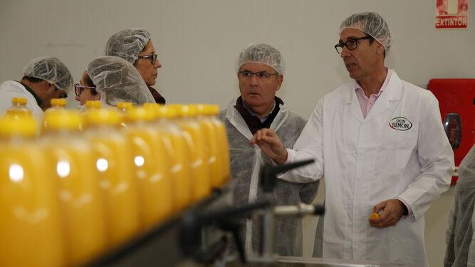 Envases para zumo de piel de naranja