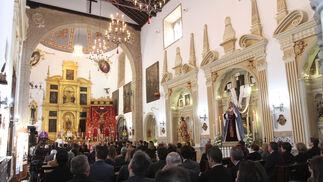 Misa en las Agustinas