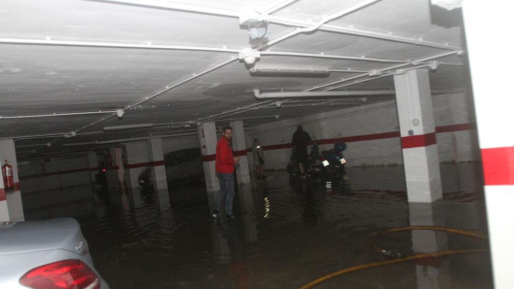 Imágenes de los daños causados por el temporal en la ciudad
