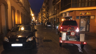 Imágenes de los estropicios de la borrasca en Huelva