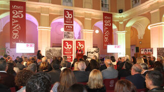Imágenes de la entrega de premios de la asociación de antiguos alumnos 3 de Marzo en La Merced