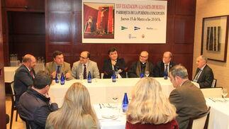 Imágenes de lapresentación de la XXV Exaltación a la Saeta organizada por Huelva Información y El Corte Inglés