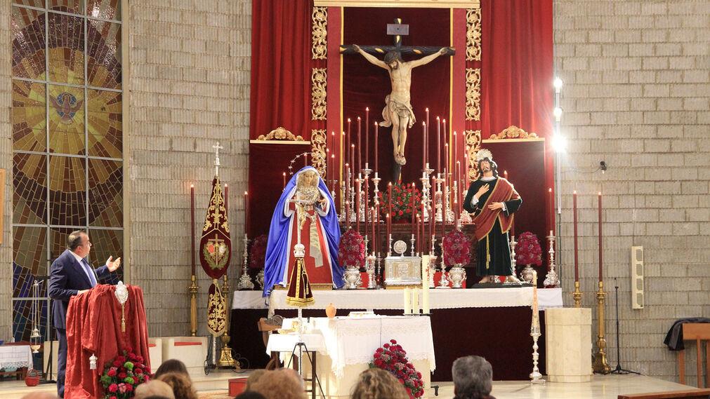 Imágenes del pregón de Fernando de la Torre en la Hdad del Perdón