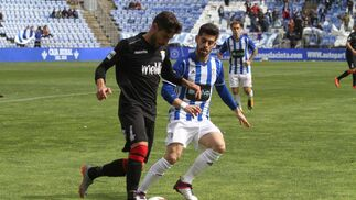 Imágenes del encuentro entre el Recreativo de Huelva y el Unión deportiva Melilla