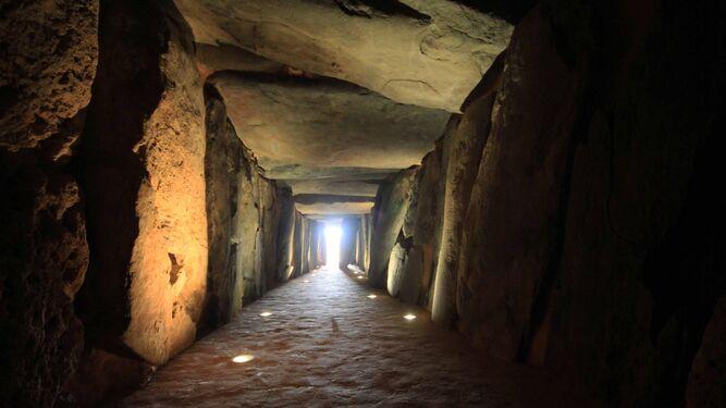 Imagen del dolmen de Soto.