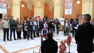 Imágenes de la presentación del cartel universitario de la Hdad de Estudiantes