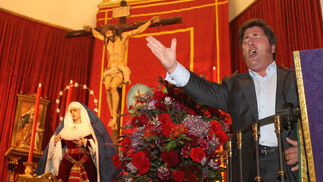 Imágenes de la exaltación a la saeta de Huelva Información en su 25 aniversario.
