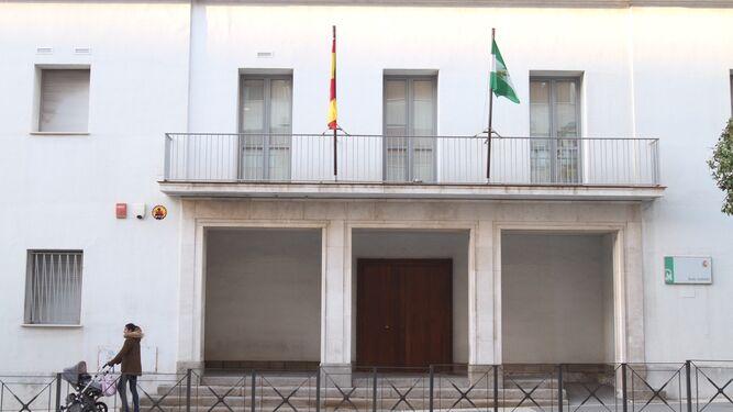 La sede judicial de la Alameda Sundheim donde se ubica el Primera Instancia Bis de Huelva.