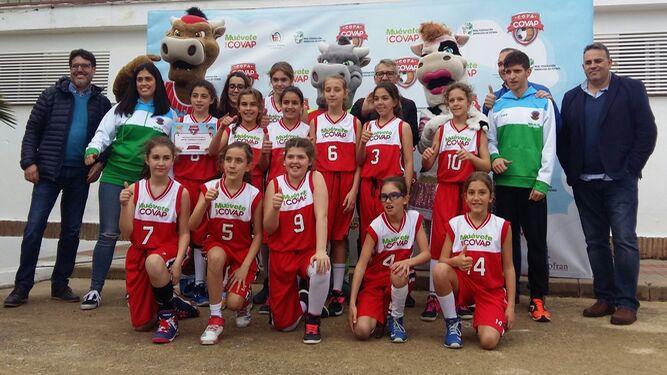 Bonares disfruta con el espectáculo de la sede provincial de la Copa Covap