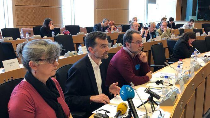 Maíllo en el  Parlamento Europeo