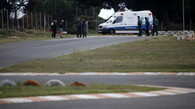 Los servicios sanitarios se desplazaron hasta el kartódromo pero no pudieron hacer nada por salvar la vida del muchacho.