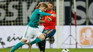 Las imágenes del Alemania-España