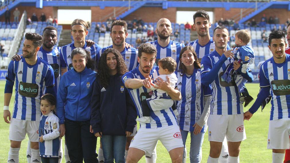 Imágenes del partido entre el Recreativo de Huelva y el Villanovense