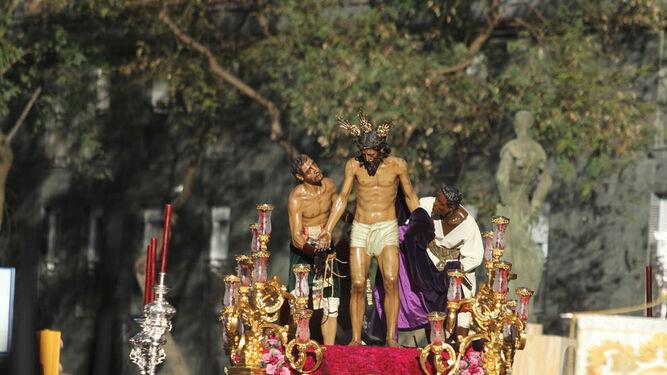 El misterio de Mutilados al comienzo de la calle de Jesús de la Pasión.
