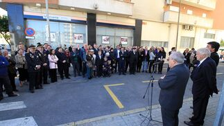Acto de rotulación de la calle Abogado Juan José Domínguez en imágenes
