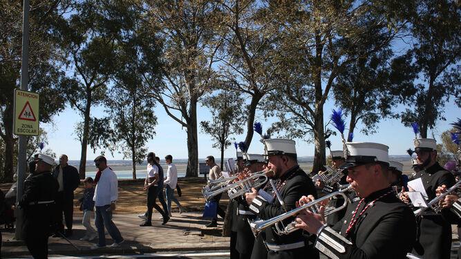 Agrupación musical Santa Cruz.