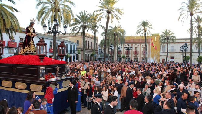El Cautivo recorre las calles de La Palma.