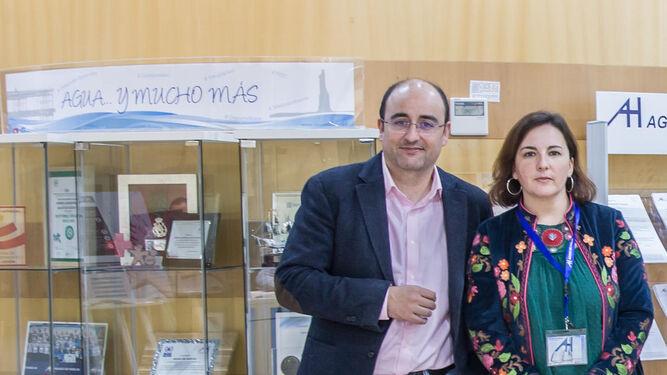 Marcos Martín e Isabel Castilla, gerentes de Emahsa y Madre Coraje Huelva.