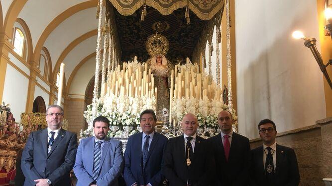 Fiel a la tradición en el día grande de Huelva