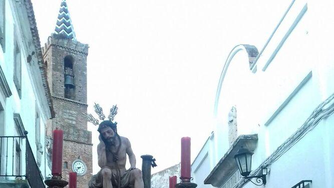 Paso procesional del Santo Entierro de Cortegana.