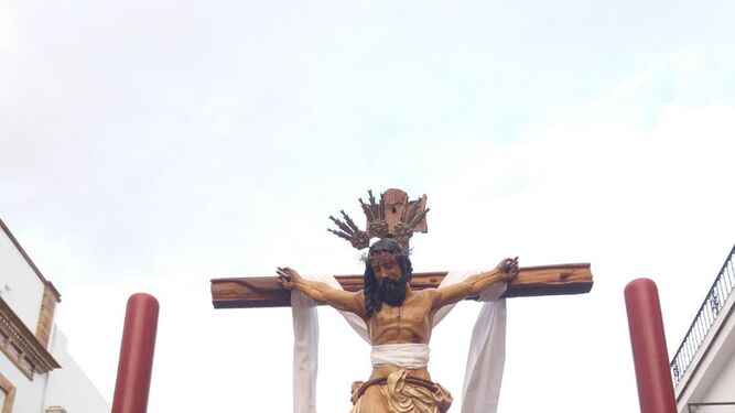 Cristo del Carmelo, en Trigueros.