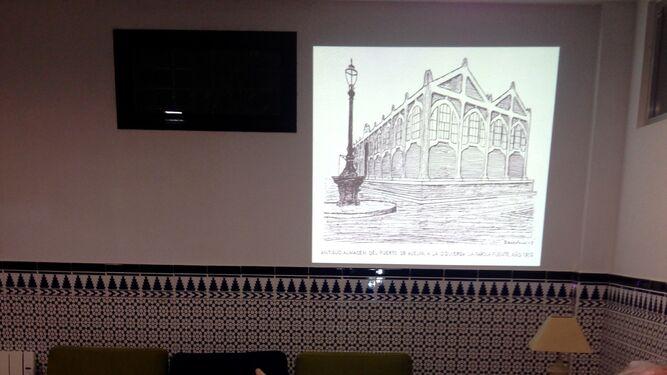 El patrimonio de Huelva en dibujos