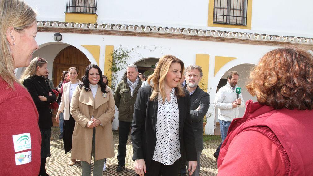 Susana Díaz inaugura en Doñana el Observatorio del Lince