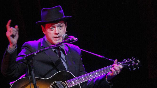 Concierto de Juan Perro en Madrid, durante la gira de presentación de su anterior trabajo, 'Río negro'.
