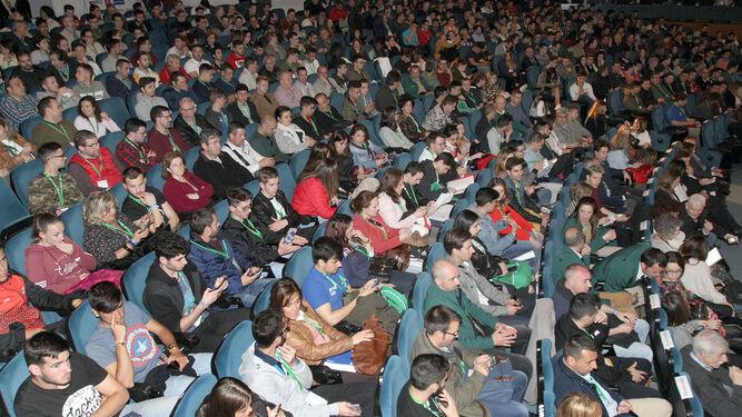 Los asistentes a AndalucíaSkills llenaban el aforo de la sala de Jacobo del Barco.
