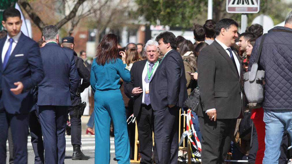 Imágenes de la visita de la reina Letizia a Huelva