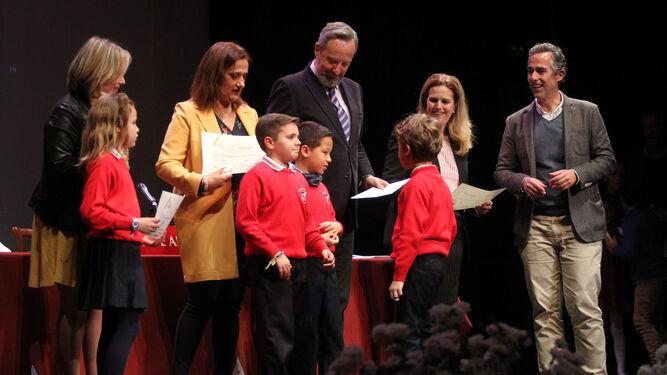 Un momento de la entrega de premios, celebrada en el Gran Teatro.