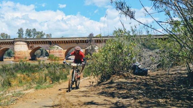 Una marea ciclista atraviesa la provincia de Huelva de punta a punta
