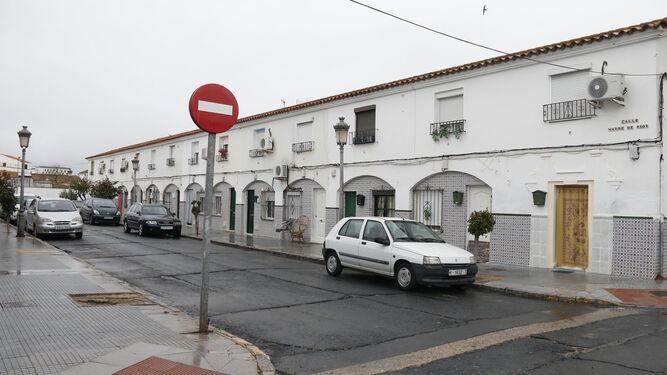Una de las viviendas que va a reformar el Ayuntamiento de Huelva.