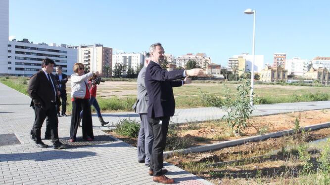Hace un año se presentó el proyecto para la construcción del colegio.