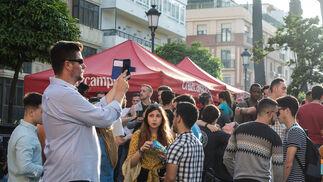 Imágenes de la Fiesta de la UHU en la Merced