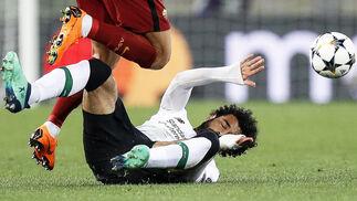 Las imágenes del Roma-Liverpool de Champions