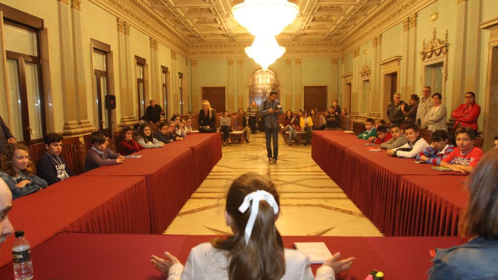 Pleno infantil en el Ayuntamiento de Huelva