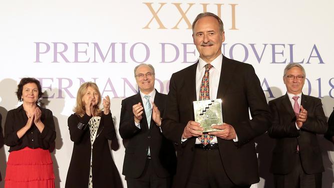 Jorge Molist, ganador del Premio Fernando Lara