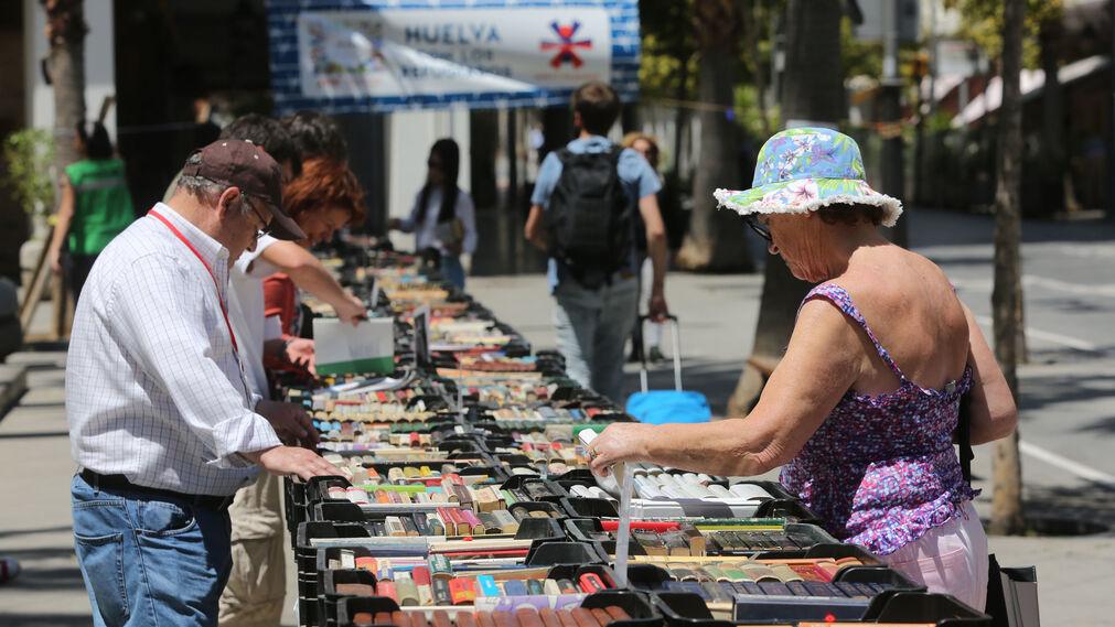 Mercadillo Solidario Huelva con los Refugiados en imágenes