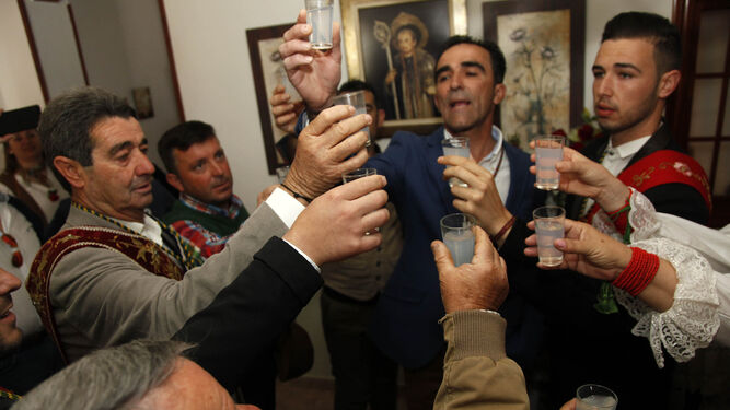 El Cerro vive este fin de semana  la romería más antigua de Huelva