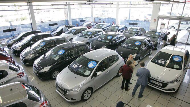 Las matriculaciones de vehículos en Huelva han aumentado este año.