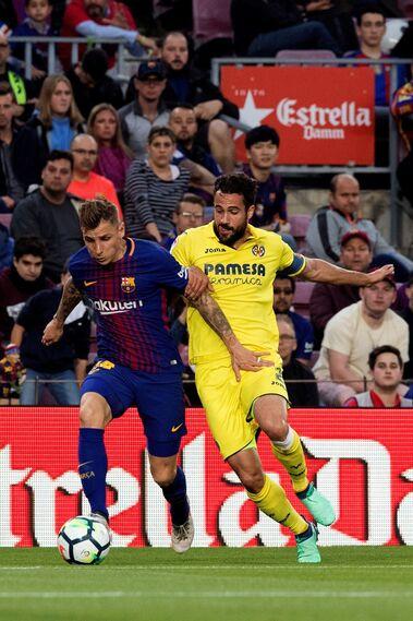 Las imágenes del Barça-Villarreal