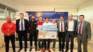 """Imágenes de la presentación de la 1ª edición de la carrera de 10 kms """"Puerta del Descubrimiento"""""""