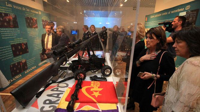 El rifle con el que ETA intentó atentar contra el Rey Juan Carlos en 1995.