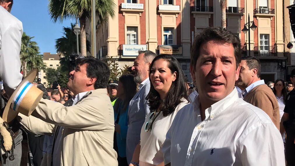Gabriel Cruz, María Martín y Ruperto Gallardo.