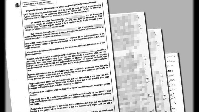 Jornaleras dicen que las denuncias se hicieron a cambio de papeles
