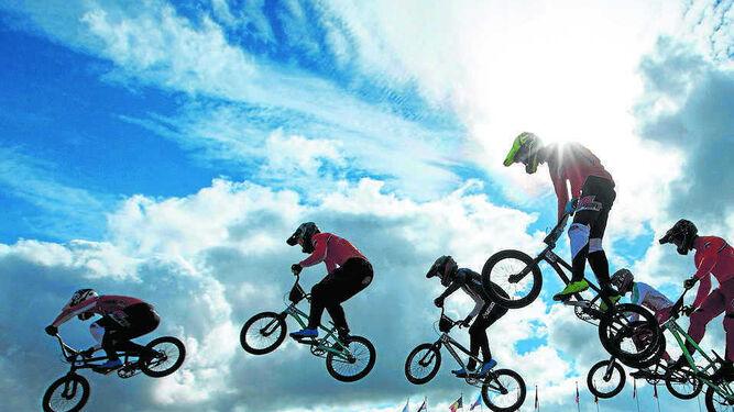 Las BMX, un trampolín a lo más alto